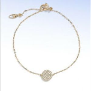 Nadri Pave bracelet - circle Pave
